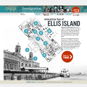 Interactive Tour of Ellis Island