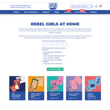 Load image into Gallery viewer, Rebel Girls At Home