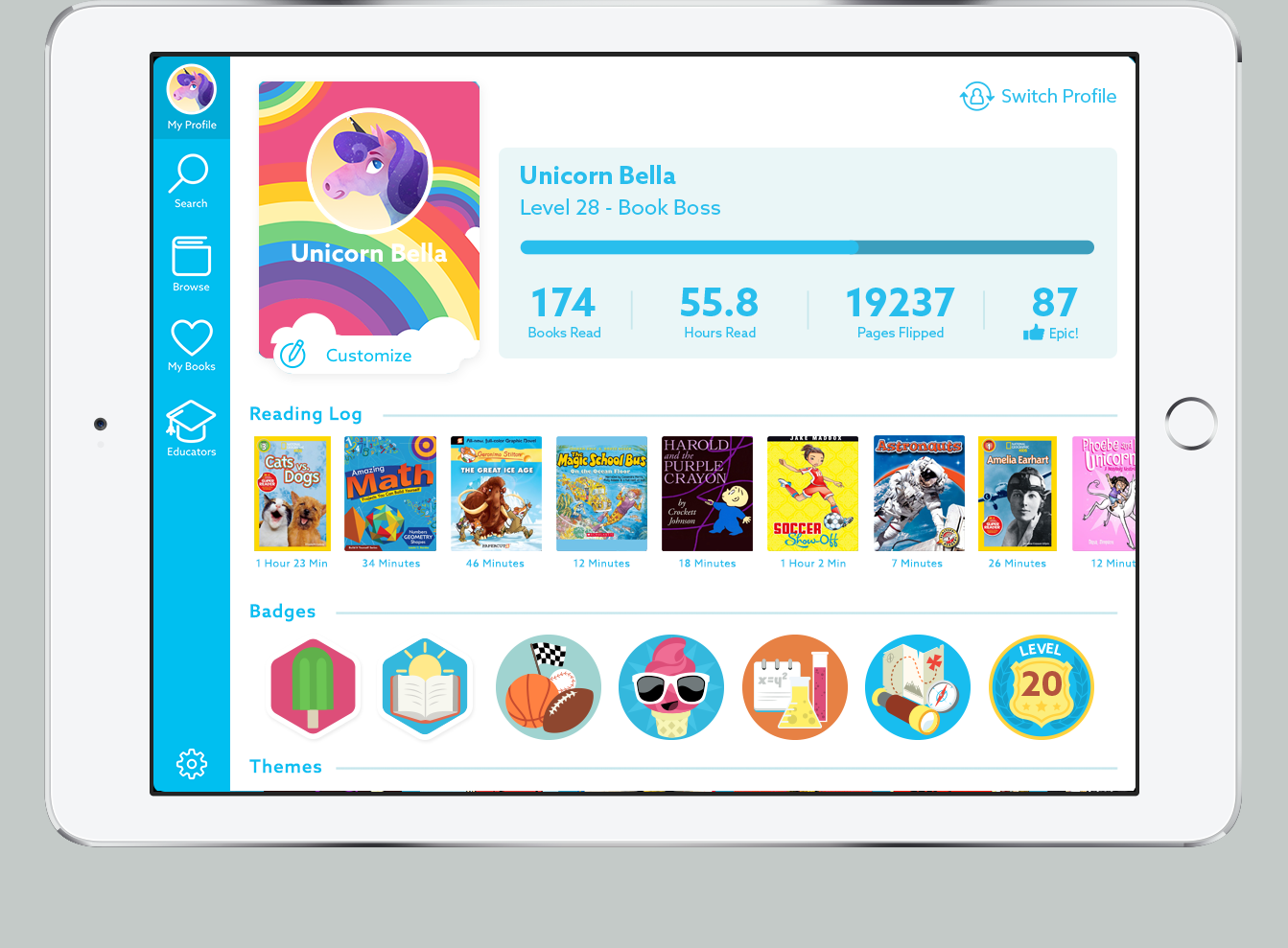 Epic! Books for Kids – Games and Learning