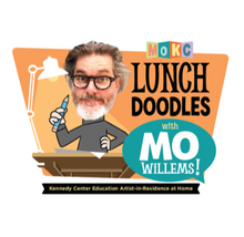 Load image into Gallery viewer, Lunch Doodles with Mo Willems