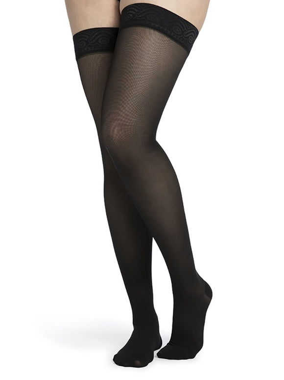 Thigh High with Anti-Slip (Mid-Sheer) - Cuisse avec bande anti-glisse (Mid-Sheer)