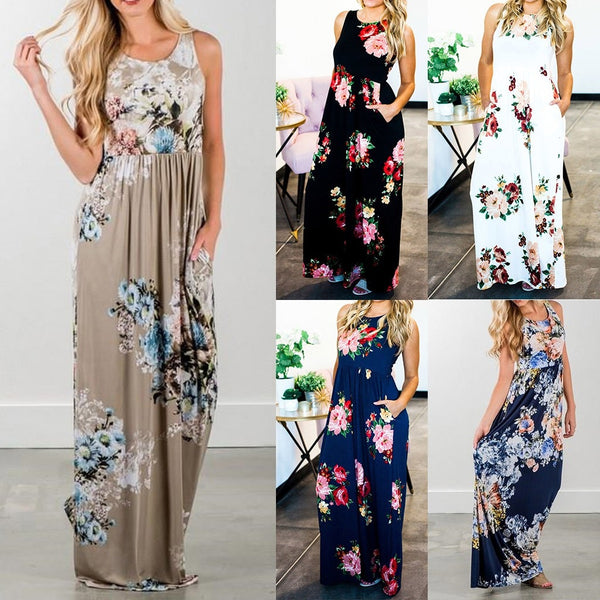 Casual Tank Maxi Dress