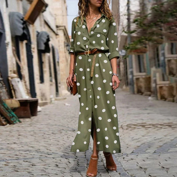 Summer Dot Polka-Dot Women'S Dress