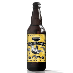 Case of 12 x 500ml Golden Plover 4%