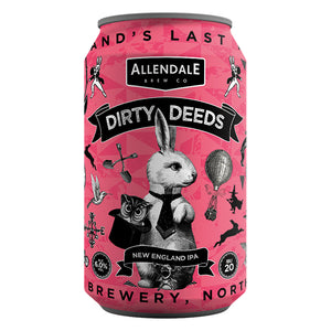 Case of 12 x 330ml Dirty Deeds 6.6%