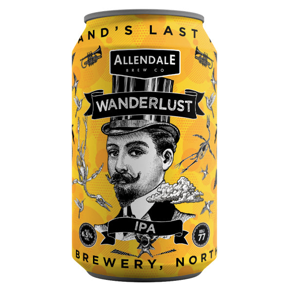 Case of 12 x 330ml Wanderlust 6.5%