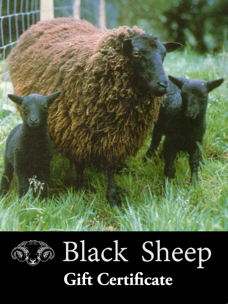 Black Sheep Gift Certificate