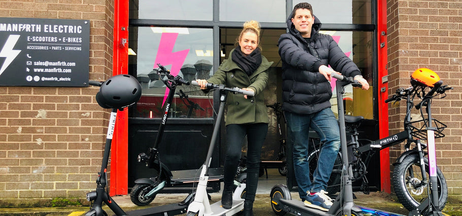 We are Open in Leeds! Online E-Scooter retailer aims to become North's biggest with launch of Yorkshire showroom