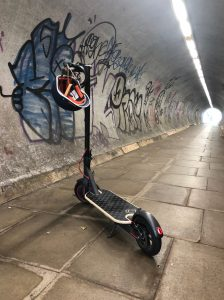 electric scooter, man firth