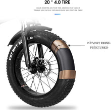 Cargar imagen en el visor de la galería, FIRTH ION FAT WHEEL E- Bike 750W 2 year warranty UK Supplier