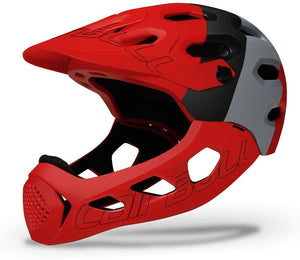 Cairbull Full Face Helmet with removeable face guard