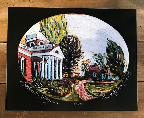 Monticello Print by Randy Smith
