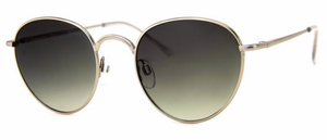 AJ Morgan 'High Level' Silver Wire-Frame Sunglasses