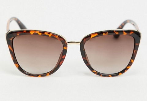 AJ Morgan 'Majestic' Oversized Cat-Eye Sunglasses