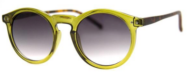 AJ Morgan Classic Rounded Contrast Sunglasses