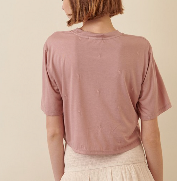 Storia Embroidered Tee