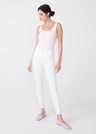 Unpublished White High Rise 'Olivia' Jeans
