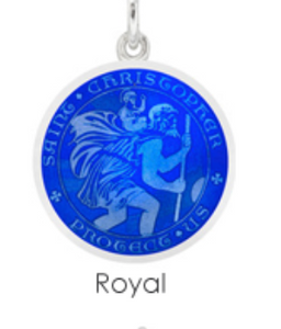 Large St. Christopher Medal Charm