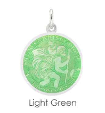 Small St. Christopher Medal Charm