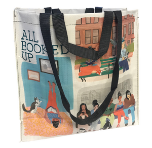 "Blue Q ""All Booked Up"" Tote"