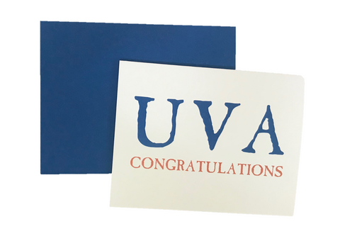 """UVA Congratulations"" Card"
