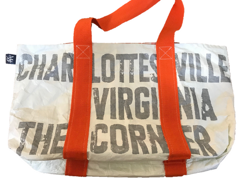 Charlottesville, VA Recycled Tote Bag