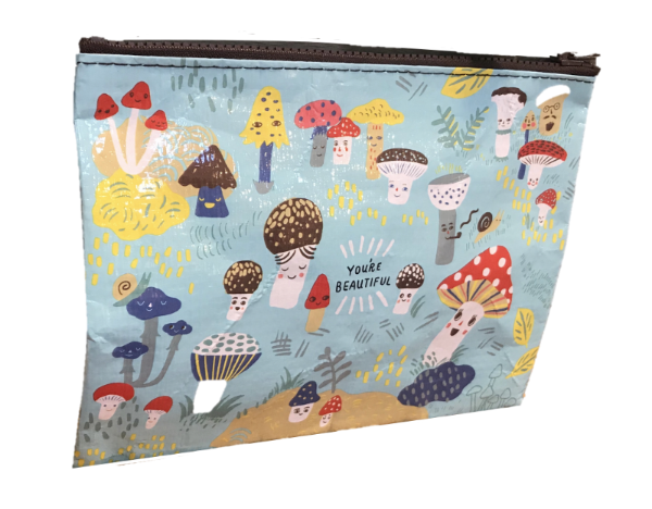 "Blue Q ""You're Beautiful"" Zipper Pouch"
