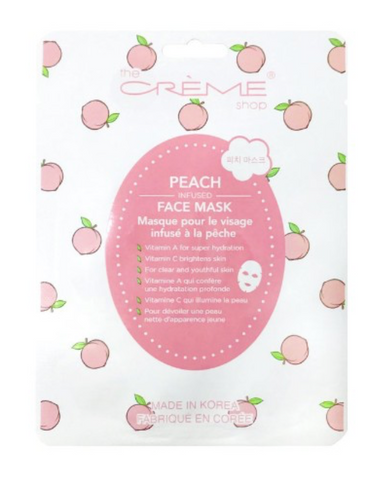 Peach-Infused Sheet Mask
