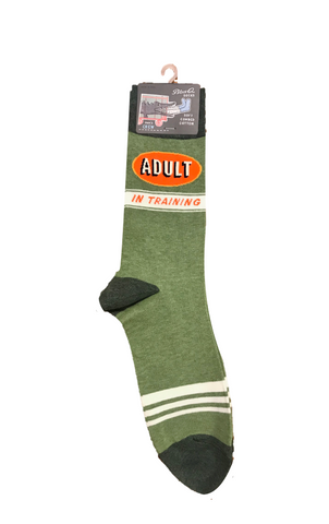 "Men's ""Adult-In-Training"" Socks"
