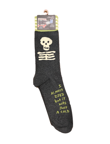 "Men's ""I Almost Died"" Socks"