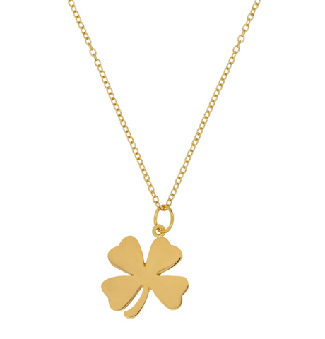 Shamrock Clover Necklace