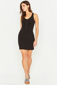 Project Social T 'LouLou' Ribbed Dress