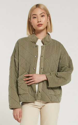 Z Supply 'Maya' Quilted Jacket