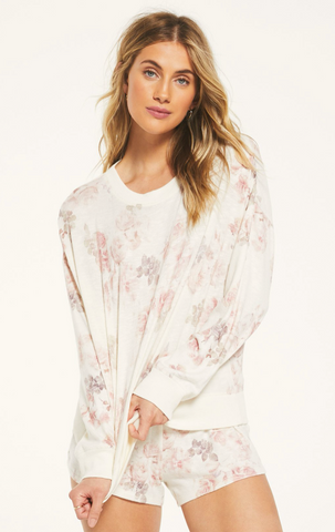 Z Supply 'Elle' Floral Long-Sleeve Pullover