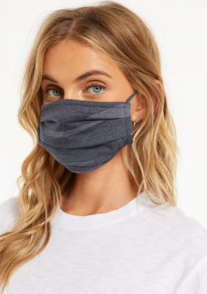 Z Supply Navy Camo Adult Face Mask