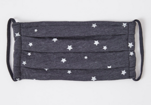 Z Supply Adult Reusable Face Mask Dark Grey Stars