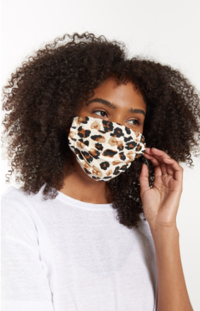 Z Supply Adult Reusable Face Mask Sparkly Cheetah