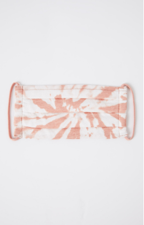 Z Supply Adult Reusable Face Mask Pink Tie Dye