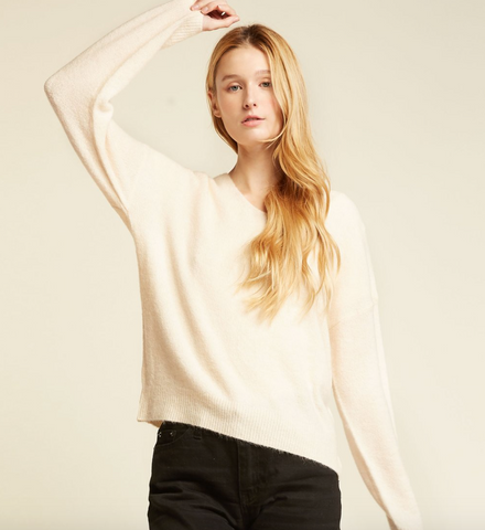 Look by M Basic V-Neck Sweater