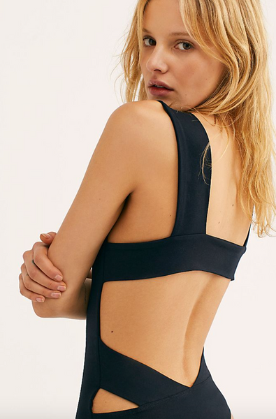 Free People 'Oh She's Strappy' Bodysuit