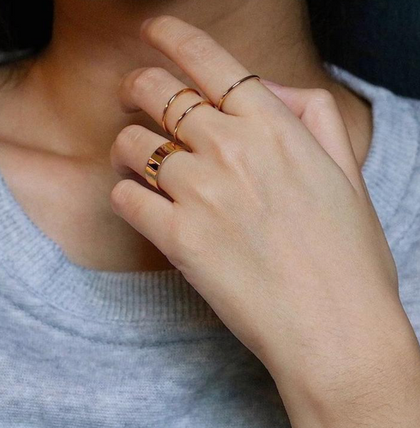 Thick Stacking Ring