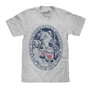 'Coors Rocky Mountain Water' Graphic Tee