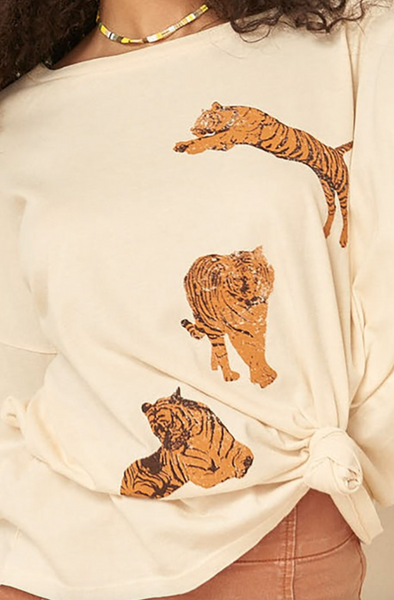 Tiger Long-Sleeve Tee