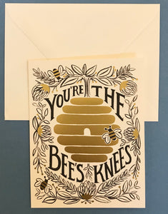 'You're the Bee's Knees' Card