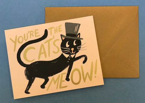 'You're the Cat's Meow' Card