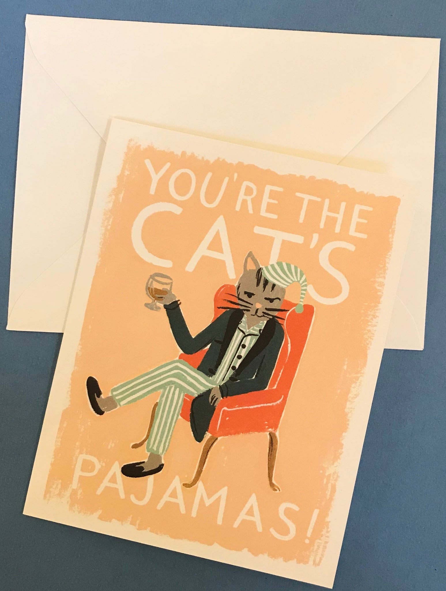 'You're the Cat's Pajamas' Card