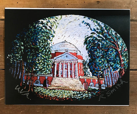 UVA Rotunda Print by Randy Smith