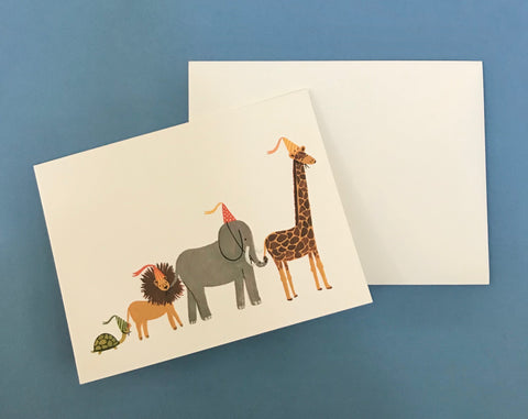 Party Parade Birthday Card