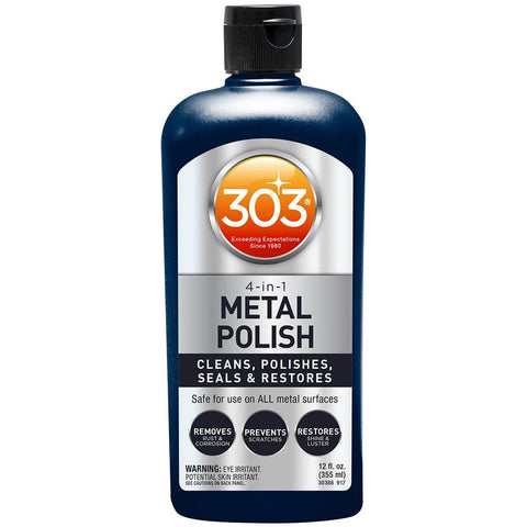 303 4-IN-1 METAL POLISH 12 FL OZ - Automotive/RV |