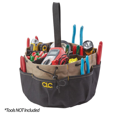 CLC 18 POCKET DRAW STRING BUCKET BAG - Electrical | Tools